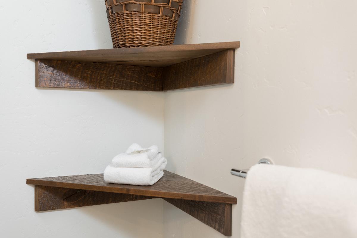 Custom shelves, remodel, central oregon